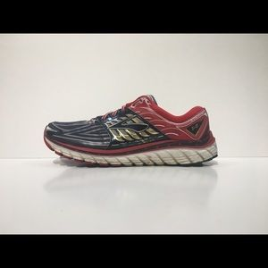 BROOKS GLYCERIN 14 Red White Blue Athletic Shoe